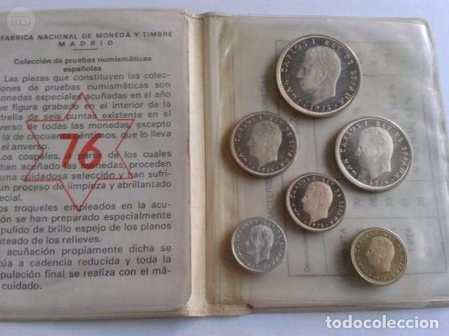 CARTERA JUAN CARLOS I SC CARTERA 1976 (Numismática - España Modernas y Contemporáneas - Colecciones y Lotes de conjunto)