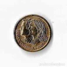 Monedas de España: MONEDA CONMEMORATIVA DE BARCELONA 1997. IÑAKI Y CRISTINA. Lote 121328483