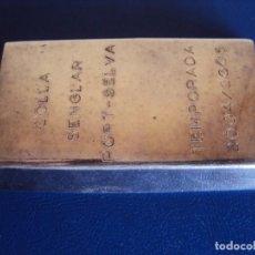 Monedas de España: (MED-180601)LINGOTE 250 GRS. PLATA 999. Lote 125197403
