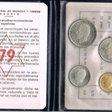 Monedas de España: CARTERA JUAN CARLOS I PROOF 1979 F.N.M.T. PARA COLECCIONITAS. Lote 148778654