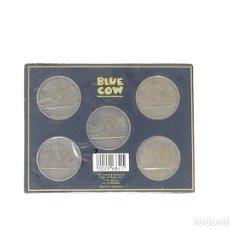 Monedas de España: ESTUCHE COLECCION 5 MONEDAS DISTINTAS CONEMORATIVAS EXPO SEVILLA 92. Lote 128898635