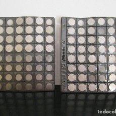 Monedas de España: 2 HOJAS PARDO NUMERO 754 CON 62 MONEDAS. Lote 129201511