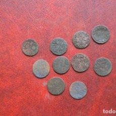 Monedas de España: LOTE 10 MONEDAS ANTIGUAS. Lote 130642594