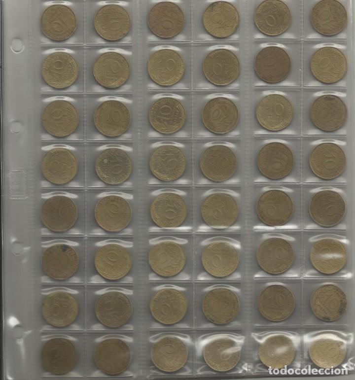 Monedas de España: ÁLBUM MONEDAS FRANCIA. 394 MONEDAS ANTES DEL EURO. CAJA, ÁLBUM Y 10 HOJAS PLÁSTICO INCLUIDO. - Foto 9 - 131438846