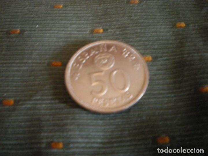 Monedas de España: MONEDAS DE 50 PESETAS ESPAÑOLAS USADAS Y CIRCULADAS - Foto 3 - 132307782