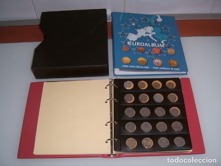 Monedas de España: ARCHIVADOR CON MONEDA ESPAÑOLA - Foto 2 - 132571706