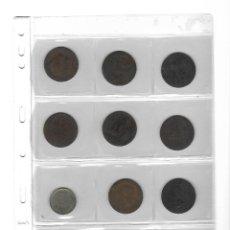Monedas de España: LOTE DE 11 MONEDAS ESPAÑOLAS CON FUNDA.. Lote 132571942