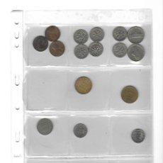 Monedas de España: LOTE DE 16 MONEDAS EXTRANJERAS CON FUNDA.. Lote 132572366