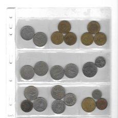 Monedas de España: LOTE DE 32 MONEDAS EXTRANJERAS CON FUNDA.. Lote 132572766