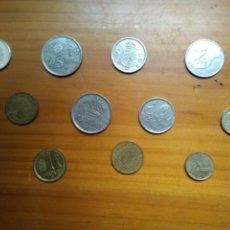 Monedas de España: 12 MONEDAS ESPAÑA - DIFERENTES TODAS - DIFERENTES PERÍODOS - DIFERENTES VALORES.. Lote 133240834