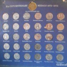 Monedas de España: COLECCION COMPLETA 31 MONEDAS F.A. CUP CENTENARY 1872 - 1972 FUTBOL INGLES. Lote 133819930