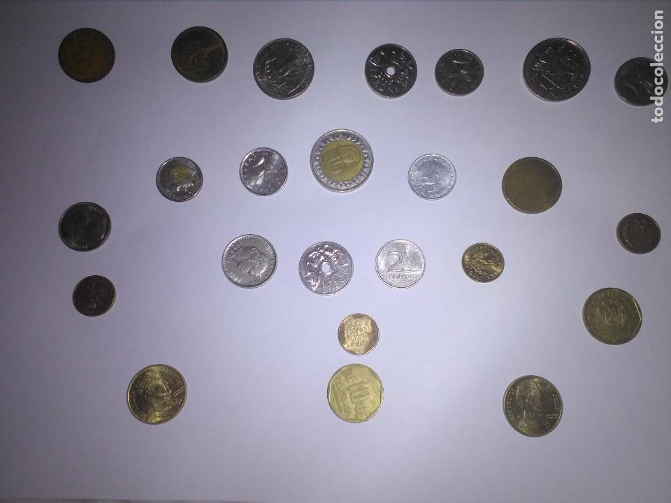 24 MONEDAS DE VARIOS PAÍSES - LOTE (Numismática - España Modernas y Contemporáneas - Colecciones y Lotes de conjunto)