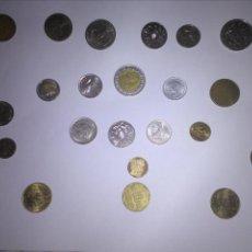 Monedas de España: 24 MONEDAS DE VARIOS PAÍSES - LOTE. Lote 134346918
