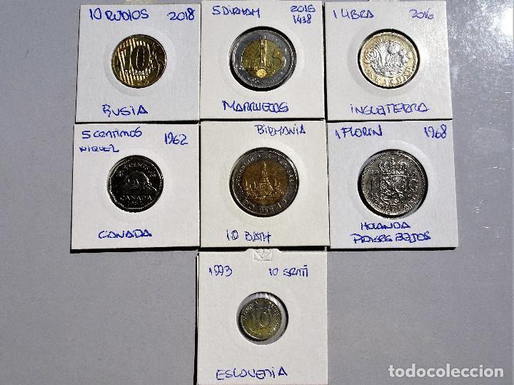 MUNDO - LOTE DE 7 MONEDAS, DIFERENTES PAISES Y AÑOS - MBC (Numismática - España Modernas y Contemporáneas - Colecciones y Lotes de conjunto)