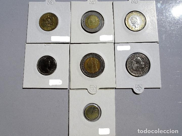 Monedas de España: Mundo - Lote de 7 Monedas, diferentes paises y años - MBC - Foto 2 - 135111186
