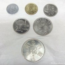 Monedas de España: COLECCIÓN DE 6 MONEDAS DEL MUNDIAL ESPAÑA 82. Lote 136607206