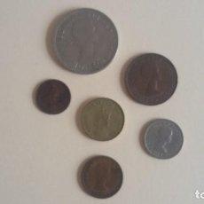 Monedas de España: LOTE DE MONEDAS DE ELISABETH II. Lote 136741958