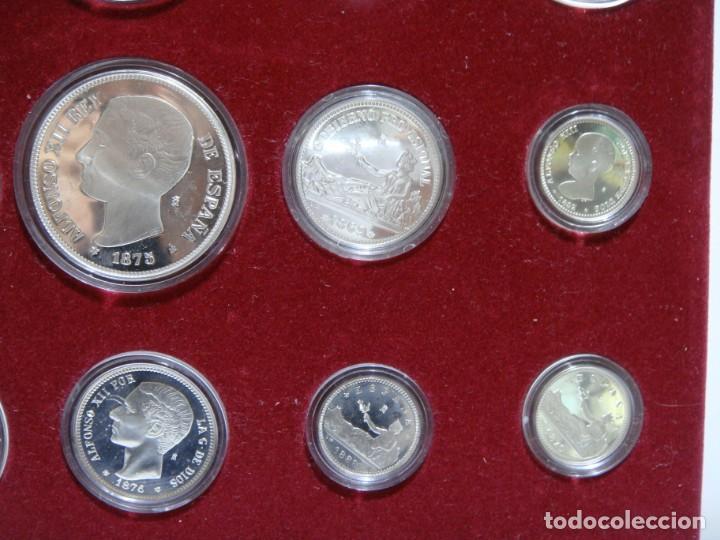 Monedas de España: HISTORIA DE LA PESETA. EMISION ESPECIAL PLATA Y ORO. 24 MONEDAS FNMT - Foto 6 - 137993970