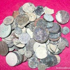 Monedas de España: LOTE DE MÁS DE 100 MONEDAS PARA LIMPIAR Y CATALOGAR - 24. Lote 138073326