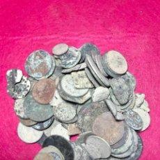 Monedas de España: LOTE DE MÁS DE 100 MONEDAS PARA LIMPIAR Y CATALOGAR - 14. Lote 138073450