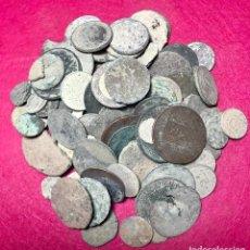 Monedas de España: LOTE DE MÁS DE 100 MONEDAS PARA LIMPIAR Y CATALOGAR - 13. Lote 138073598