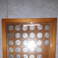 Monedas de España: COLECCIÓN COMPLETA MONEDAS DE PLATA 8 MM PUEBLOS DE MURCIA. Lote 138757502