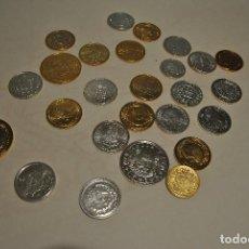 Monedas de España: REPLICAS DE LA HISTORIA DE LA PESETA EN ORO Y PLATA. Lote 138812450