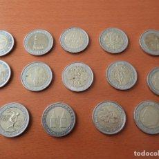 Coins of Spain - LOTE 14 MONEDAS CONMEMORATIVAS 2€ - EUROS - DIFERENTES PAISES - VER FOTOS - 138960258