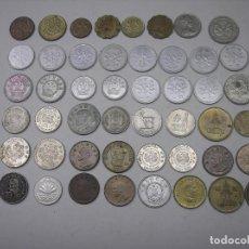 Monedas de España: LOTE DE 48 MONEDAS DEL MUNDO. METAL , HOJA Nº.7. Lote 140768774