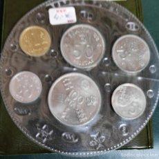 Monedas de España: BLISTER SERIE MONEDAS *ESPAÑA 1982* FUTBOL MUNDIAL COMPLETO EN SET ESPECIAL. Lote 140798858