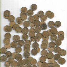 Monedas de España: LOTE DE 110 UNIDADES MONEDAS DE PESETA DEL 1975-1980. Lote 141772002