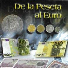 Monedas de España: OPORTUNIDAD COLECCION COMPLETA DE LA PESETA AL €URO 120 BILLETES EMITIDA POR EL NORTE DE CASTILLA. Lote 142760886
