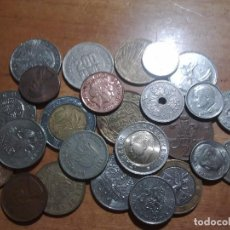 Monedas de España: LOTE 25 MONEDAS EXTRANJERAS. Lote 142986390
