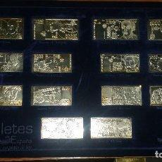 Monedas de España: COLECCIÓN DE BILLETES DE PLATA. Lote 143086566