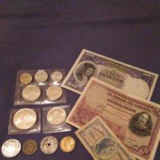 Monedas de España: LOTE NUMISMÁTICO. LEER DESCRIPCIÓN,VER FOTOS. Lote 143103638