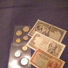 Monedas de España: LOTE NUMISMÁTICO. LEER DESCRIPCIÓN,VER FOTOS. Lote 143104270