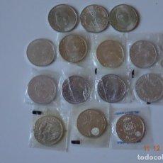 Monedas de España: COLECCION MONEDAS DE PLATA SIN CIRCULACION. Lote 143305194