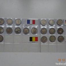 Monedas de España: LOTE 2 EUROS CONMEMORATIVOS VARIOS PAISES. Lote 143587006