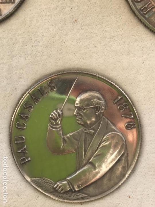 Monedas de España: ARRAS DE CATALUÑA 1972 PLATA PURA EN ESTUCHE ESPECIAL DE LUJO NUMIS ART EUROPA. VER FOTOS ANEXAS. - Foto 21 - 145318034