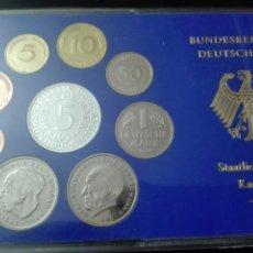 Monedas de España: ESTUCHE DE ALEMANIA KARLSRUHE LETRA G 1974 BRILLO ESPEJO Y RELIEVE MATEADO. Lote 146332422
