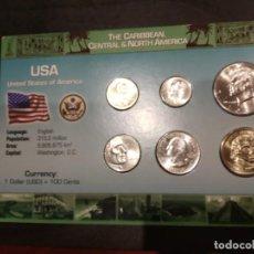 Monedas de España: COLECCIÓN ESTADOS UNIDOS . Lote 147457926