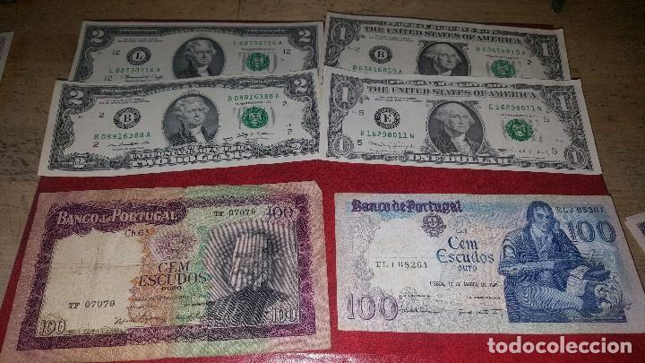 Monedas de España: Billetes de diferentes paises, hay de españa, leer descripcion - Foto 2 - 147671702