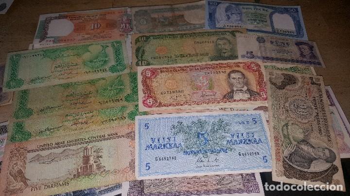 Monedas de España: Billetes de diferentes paises, hay de españa, leer descripcion - Foto 4 - 147671702