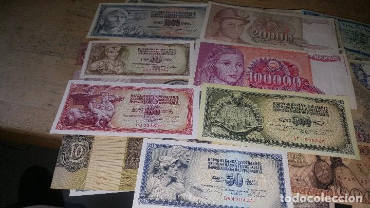 Monedas de España: Billetes de diferentes paises, hay de españa, leer descripcion - Foto 6 - 147671702