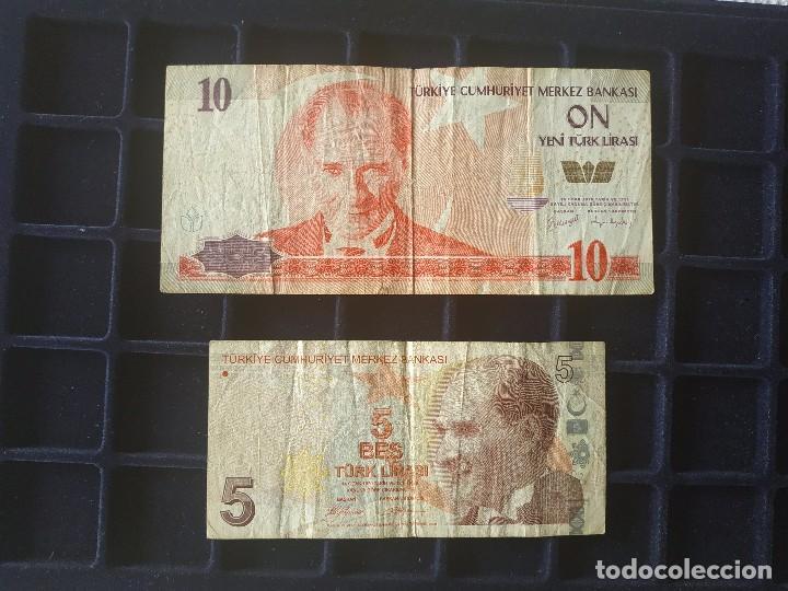 Monedas de España: BIL99 - COLECCION DE DIEZ BILLETES EXTRANJEROS - Foto 7 - 147748586
