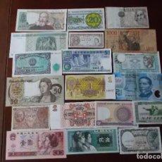 Monedas de España: COLECCION DE BILLETES MUNDIALES ALGUNOS SIN CIRCULAR . Lote 147819030