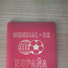 Monedas de España: CARTERA MONEDAS MUNDIAL 82. Lote 151291554
