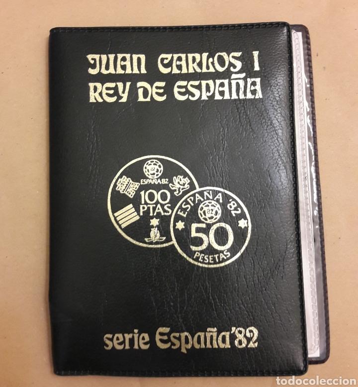 Monedas de España: Cartera con colección de monedas Serie España 82 completa sin circular - Foto 4 - 151593678
