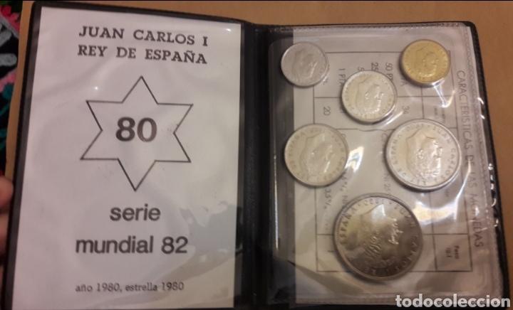 Monedas de España: Cartera con colección de monedas Serie España 82 completa sin circular - Foto 5 - 151593678