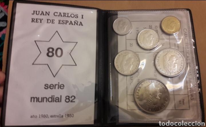 Monedas de España: Cartera con colección de monedas Serie España 82 completa sin circular - Foto 6 - 151593678
